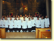 The Choir at St Paul's Episcopal Church